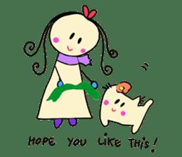 Dinkyneko & Friends #8 _Winter X'mas HNY sticker #14158945