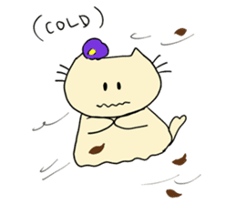 Dinkyneko & Friends #8 _Winter X'mas HNY sticker #14158946