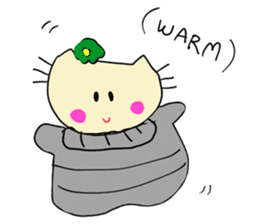 Dinkyneko & Friends #8 _Winter X'mas HNY sticker #14158947