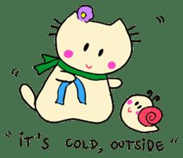 Dinkyneko & Friends #8 _Winter X'mas HNY sticker #14158948