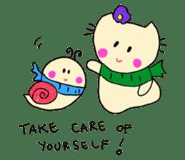 Dinkyneko & Friends #8 _Winter X'mas HNY sticker #14158949