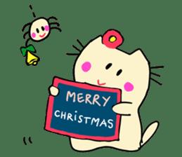 Dinkyneko & Friends #8 _Winter X'mas HNY sticker #14158952