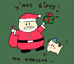 Dinkyneko & Friends #8 _Winter X'mas HNY sticker #14158953