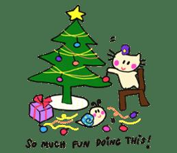 Dinkyneko & Friends #8 _Winter X'mas HNY sticker #14158955