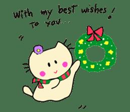 Dinkyneko & Friends #8 _Winter X'mas HNY sticker #14158956
