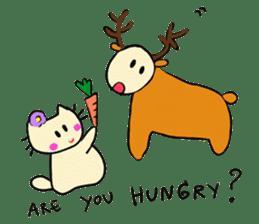 Dinkyneko & Friends #8 _Winter X'mas HNY sticker #14158958