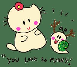 Dinkyneko & Friends #8 _Winter X'mas HNY sticker #14158961