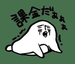 Doodle penguin Sticker2 sticker #14163601