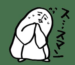 Doodle penguin Sticker2 sticker #14163608