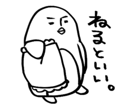 Doodle penguin Sticker2 sticker #14163617