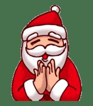 Merry Christmas Sticker! with Santa sticker #14163817