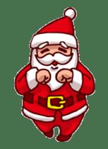 Merry Christmas Sticker! with Santa sticker #14163824