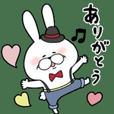 Lover rabbits for boy friend. sticker #14163944