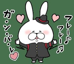Lover rabbits for boy friend. sticker #14163970