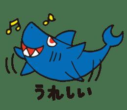 Shark Vincent 2 sticker #14164451