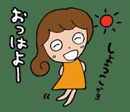 I'm shoko sticker #14165302