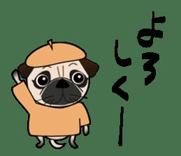 Pretty Pug!4 sticker #14165632