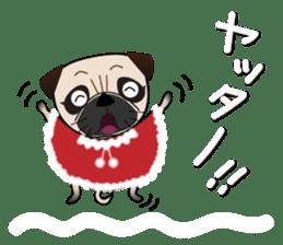 Pretty Pug!4 sticker #14165641