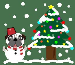 Pretty Pug!4 sticker #14165656