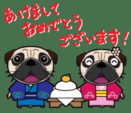 Pretty Pug!4 sticker #14165661