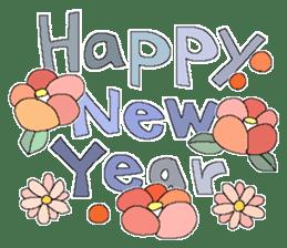 X'mas and Happy new year 6 sticker #14166525