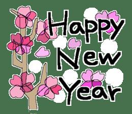 X'mas and Happy new year 6 sticker #14166526