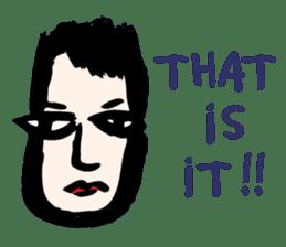 RAW MAN [English] sticker #14172869