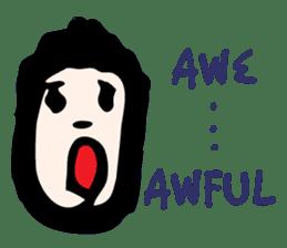 RAW MAN [English] sticker #14172872