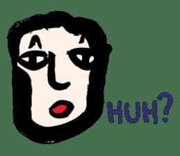 RAW MAN [English] sticker #14172874