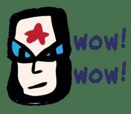RAW MAN [English] sticker #14172879