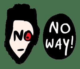 RAW MAN [English] sticker #14172880
