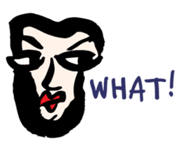 RAW MAN [English] sticker #14172888