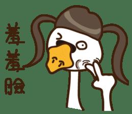 Madranch-Miss swan is mad sticker #14172918