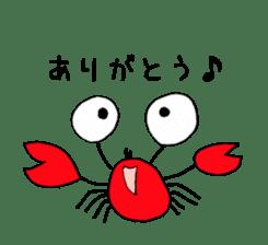 Loose Crab sticker #14190089