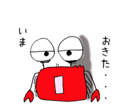 Loose Crab sticker #14190090
