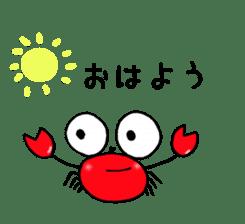 Loose Crab sticker #14190091