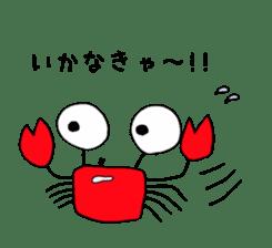 Loose Crab sticker #14190093