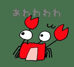 Loose Crab sticker #14190097