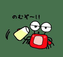 Loose Crab sticker #14190100