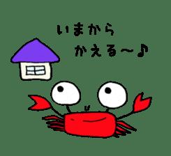 Loose Crab sticker #14190101