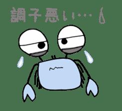 Loose Crab sticker #14190108