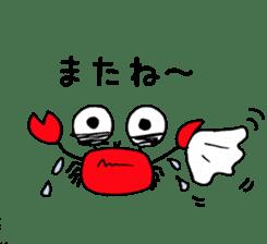 Loose Crab sticker #14190111