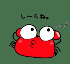 Loose Crab sticker #14190117