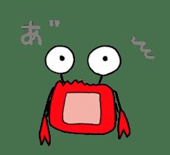 Loose Crab sticker #14190119