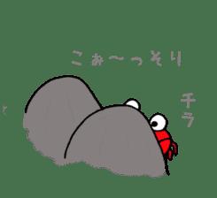 Loose Crab sticker #14190123