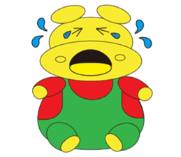 Angry Hippo sticker #14191730