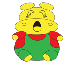 Angry Hippo sticker #14191732