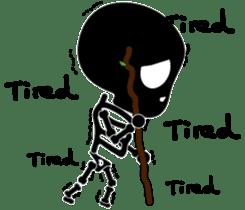 Bone San's ordinary life 01 Eng Ver. sticker #14192244