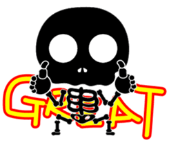 Bone San's ordinary life 01 Eng Ver. sticker #14192245