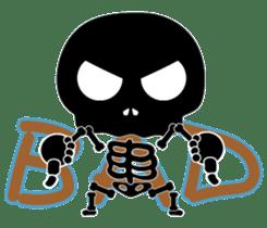 Bone San's ordinary life 01 Eng Ver. sticker #14192246